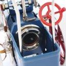 Wilesco Dampftraktor blau Wilesco D405