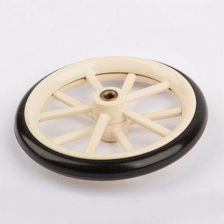Rad mit Gummireifen 84 mm - Wilesco Ersatzteile