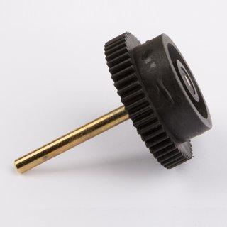 Antriebszahnrad mit Achse - Wilesco Ersatzteile
