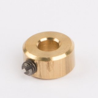 Stellring Loch messing Ø 4mm - Wilesco Ersatzteile