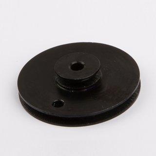 Schnurlaufrolle Doppelschnurlaufrolle - ALU schwarz Ø 38mm - Wilesco Ersatzteile