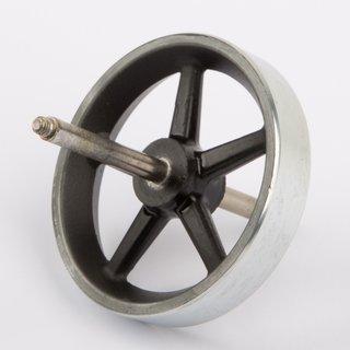 Schwungrad 50mm mit Achse - Wilesco Ersatzteile