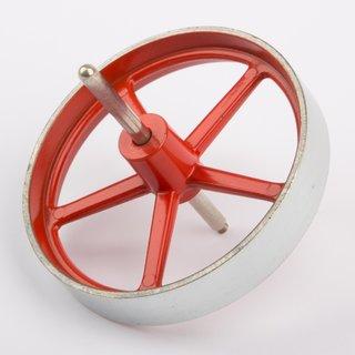 Schwungrad 70mm mit Achse - Wilesco Ersatzteile