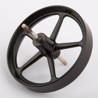 Schwungrad 80mm mit Achse - Wilesco Ersatzteile