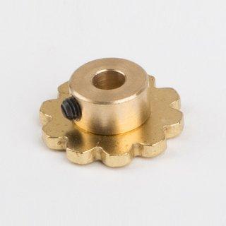 Zahnrad 18mm - Wilesco Ersatzteile10 Zähne, Bohrung 4mm - Wilesco Ersatzteile