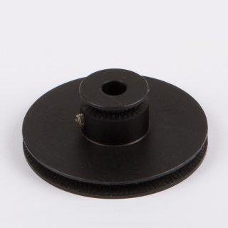 Schnurlaufrolle ALU schwarz Ø 60mm - Wilesco Ersatzteile