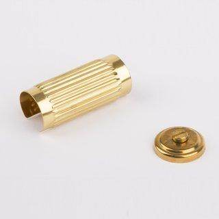 Zylinderverkleidung messing - Wilesco Ersatzteile