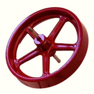 Schwungrad 100 mm rot - Wilesco Ersatzteile