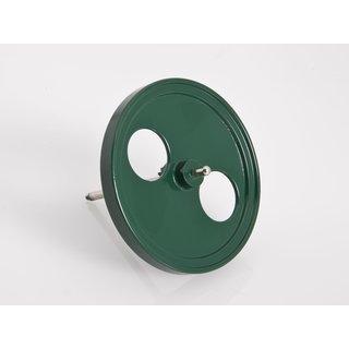 Schwungrad 80 mm grün D405/1 - Wilesco Ersatzteile